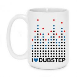 Кружка 420ml Я люблю DubStep - FatLine