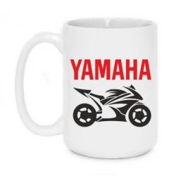 Кружка 420ml Yamaha Bike