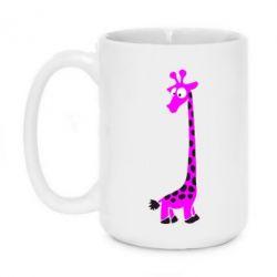 Кружка 420ml Жираф - FatLine