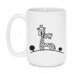 Кружка 420ml жираф