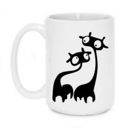 Кружка 420ml Жирафы - FatLine