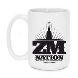 Кружка 420ml ZM Nation GUf
