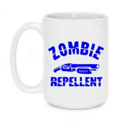 Кружка 420ml Zombie repellent
