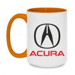 Кружка двоколірна 420ml Acura