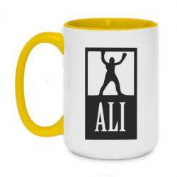 Кружка двоколірна 420ml Ali