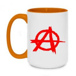 Кружка двухцветная 420ml Anarchy
