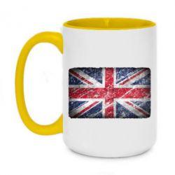 Кружка двухцветная 420ml Англия