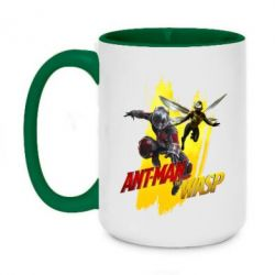 Кружка двоколірна 420ml Ant - Man and Wasp