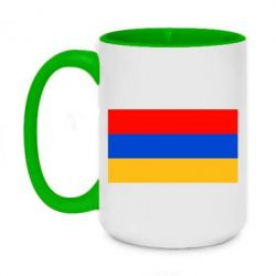 Кружка двоколірна 420ml Вірменія