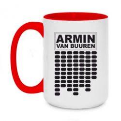 Кружка двухцветная 420ml Armin Van Buuren Trance