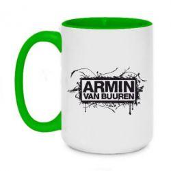 Кружка двухцветная 420ml Armin Van Buuren