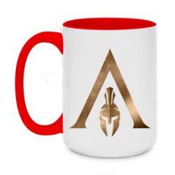 Кружка двоколірна 420ml Assassin's Creed: Odyssey logo