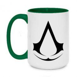 Кружка двоколірна 420ml Assassin's Creed