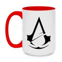 Кружка двоколірна 420ml Assassins Creed Logo