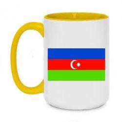 Кружка двухцветная 420ml Азербайджан