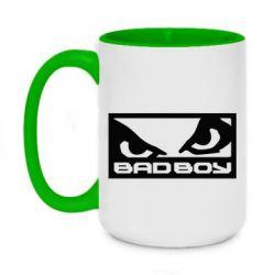 Кружка двухцветная 420ml Bad Boy - FatLine