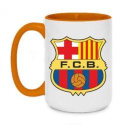 Кружка двоколірна 420ml Barcelona