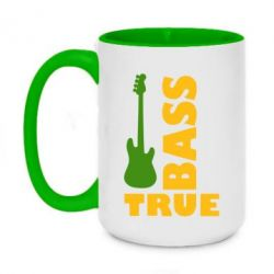 Кружка двухцветная 420ml Bass True