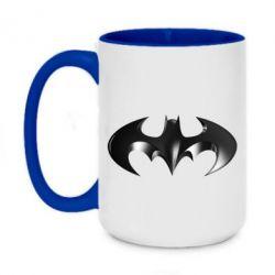"Кружка двухцветная 420ml Batman ""3d Logo"""