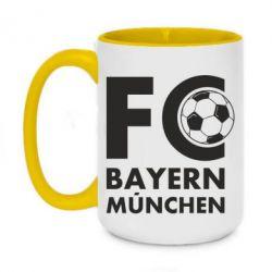 Кружка двоколірна 420ml Баварія Мюнхен