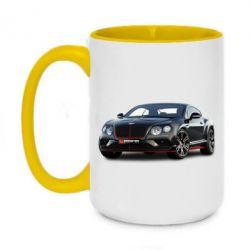 Кружка двоколірна 420ml Bentley car3