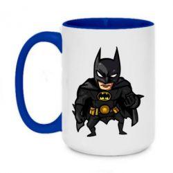 Кружка двоколірна 420ml Бетмен Арт