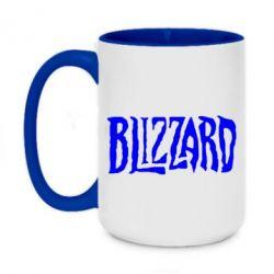 Кружка двоколірна 420ml Blizzard Logo