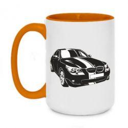Кружка двухцветная 420ml BMW car