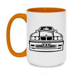 Кружка двухцветная 420ml BMW E34