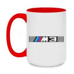 Кружка двухцветная 420ml BMW M3