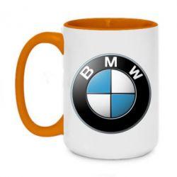 Кружка двухцветная 420ml BMW Small Logo