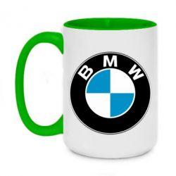 Кружка двухцветная 420ml BMW Small