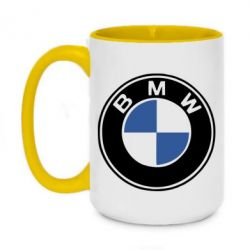 Кружка двухцветная 420ml BMW