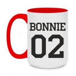 Кружка двоколірна 420ml Bonnie 02