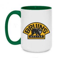 Кружка двухцветная 420ml Boston Bruins - FatLine
