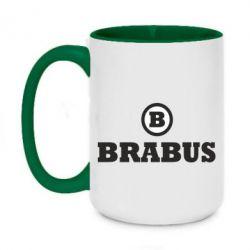 Кружка двухцветная 420ml Brabus