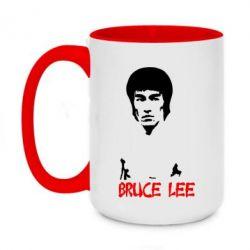 Кружка двухцветная 420ml Bruce Lee
