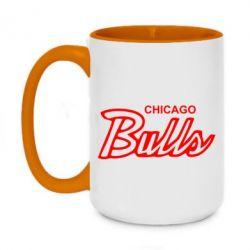 Кружка двоколірна 420ml Bulls from Chicago
