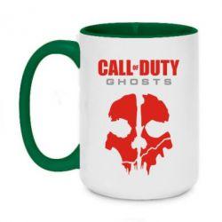 Кружка двухцветная 420ml Call of Duty Ghosts - FatLine