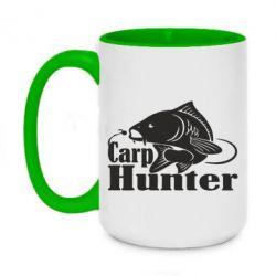Кружка двоколірна 420ml Carp Hunter
