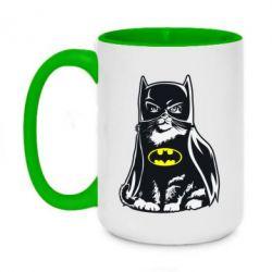 Кружка двоколірна 420ml Cat Batman
