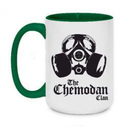Кружка двоколірна 420ml Chemodan