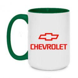Кружка двоколірна 420ml Chevrolet Small