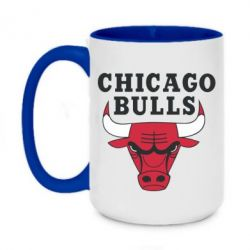 Кружка двухцветная 420ml Chicago Bulls Classic