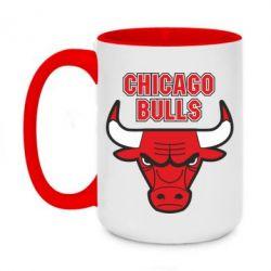 Кружка двоколірна 420ml Chicago Bulls vol.2