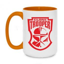 Кружка двухцветная 420ml Clone Trooper