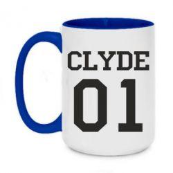 Кружка двухцветная 420ml Clyde 01