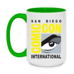 Кружка двоколірна 420ml Comic-Con International: San Diego logo