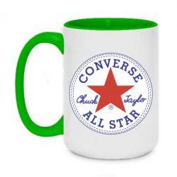 Кружка двоколірна 420ml Converse