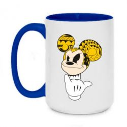 Кружка двухцветная 420ml Cool Mickey Mouse - FatLine
